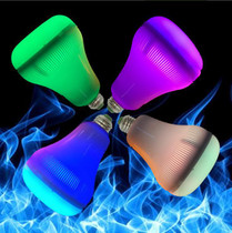 18W RGB BLUETOOTH LED MUSIC FLAME LIGHT WITH REMOTE CONTROL